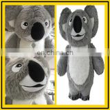Happy Island 2017 custom inflatable Koala mascot costume long plush costume giant costume for adult on sale