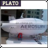 6m long Singapore inflatable blimp airship, custom inflatable zeppelin balloon for advertising