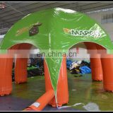 New Product Inflatable Advertising Promotional Trade Show Tent Rooftop Spider Tent For Sale