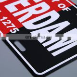 wholesale custom aluminum car number license plate