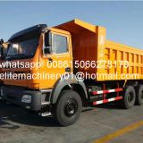 Heavy load Beiben 30ton tipper truck 6x4 rear tipping dump truck