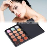 15 color cream concealer palette for face makeup