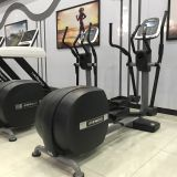 Gym equipment elliptical , cross trainer . fitness ellipse