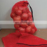 50x80 Packing PP vegetable net bag / Potato Garlic Fruit Orange Firewood Mesh bag / onions bags