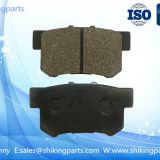 D1086 Semi metallic brake pad for Honda auto car, ISO 9001:2008