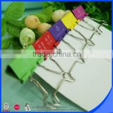 Factory selling metal food bag clip binder clip