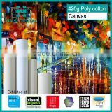 420gsm Inkjet printing polycotton canvas for eco solvent printer                                                                         Quality Choice