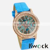 New fashion women dress casual quartz watch relogio feminino 2015 brand ladies girl Textured promotional watch