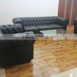 Replica European style leather sofa design,European style classic chesterfield sofa, modern style leather sofa