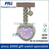 fashionable nurse watch over 100 different style for your option waterproof promotional watch frewatch