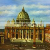 Dafen Big Wholesale Popular Item Handmade Venice Oil Picture, Canvas Oil Painting for Wall Art Decoration