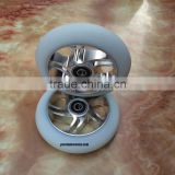Silver Scooter Wheels 110 mm for Envy Scooters