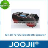 Phone Hands free wireless bluetooth speaker , portable bluetooth speaker with TF/USB card reader & Multi Color LED lighting
