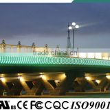 IP68 V-0 fireproof high brightness overpass wall washer patented with CE UL certification