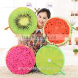 Household products sublimation printing plush fruit pillow