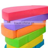 Manufacture Custom Cheap 52pcs DIY Safe Eco-freindly EVA Foam Light Building Block for kid Toy