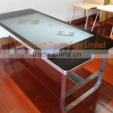 "42"" wivitouch touch foil table, hotel check in kiosk, capacitive touch screen table"