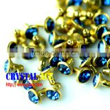 Best price Rhinestone rivet, brass rivet, decorative rhinestone rivet for clothing and shoes