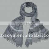 Earlier Autumn Dyed Yarn Scarf Fashion Men's Woven Scarf