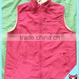 In stock Men Jacket waterproof Polar fleece color Sleeveless Vest