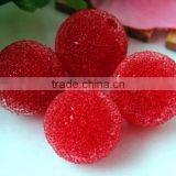Wow!! Fashion 20mm chunky red berry rhinestone seed resin glass bling crystal charming beads for kids jewelry making!!