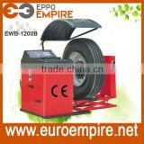 100% made in EWB-1200B heavy truck wheel balancer for car and truck tire balancing with CE certificate