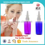 2016 Hot sale antique design 18 410 plastic medical nasal spray fine nasal spray for plastic bottle in custom color