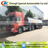 Hydrochloric Acid Transport Truck, DF Chemical Liquid Transport Semi Trailer Truck for sale