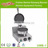 Industrial Single Plate Electric Waffle Maker Machine 220V Small Kitchen Snack Appliance With CE
