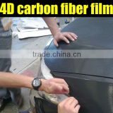 Beautiful car decoration 1.52*30m 4d carbon fiber sticker