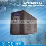 EverExceed 1200W uninterruptible power supply mini ups 220v 12v with dc with ISO/ CE/ RoHS Certificate for Small service center
