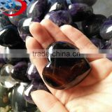 high quality amazing Natrual amethysts heart shape crystal cluster wedding
