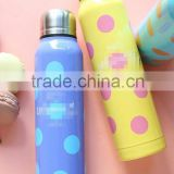 2015 New Product Pretty hot water bottle/insulated thermos flask/thermos bottle/insulated flasks and thermos/promotional gift