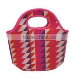 Fashionable Insulated Neoprene Lunch Bag, Cooler Bag,Available in Various Sizes, Colors and Materials