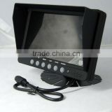 Heavy-duty Digital motorized Security roof car lcd headrest placement headrest car monitor with hdmi input