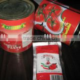 canned tomato paste in bags