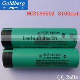 Genuine imported from Japan NCR18650A 18650 3100mah protected li-ion battery high capacity 3.7v lithium rechargeable battery