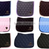 Horse Cotton Saddle Pads / Horse Riding Quilted Saddle Pads / All round Horse Colors Saddle Pads