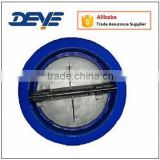 Double Disc Flap Wafer Dual Check Valve