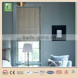 Transluscent components for roman blinds curtain design