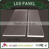 LED round panel High quality at factory prices has high brightness led strip 110-240v silk-screen printing ,engraving.