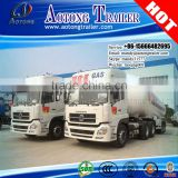 Hot sale 3 axles high quality anhydrous ammonia lpg transport trailer lpg semi trailer lpg gas tanker semi trailer