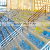 China Factory Wholesale Soccer Stadium Seat plastic bleacher chair