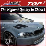 Fiber Glass Hood for 2002-2005 BMW 3 Series E46 4DR Duraflex GTR bonnet for BMW 3 Series E46