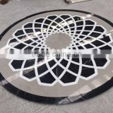 marble floor design pictures in black and white marble