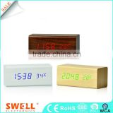 large number car led clock , simple led digital clock for car