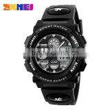 2015 skmei digital dual time wrist watch night light wholesale watches                                                                                                         Supplier's Choice