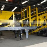 mobile crushing plant / stone crusher station / mobile rock breaker plant