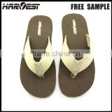 Cheap wholesale rubber man slipper , custom new model beach slipper
