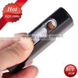 power bank 2600mAh back up charger for smartphone with cigar lighter use to man's gift